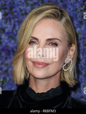 PACIFIC PALISADES, LOS ANGELES, CA, USA - SEPTEMBER 20: Charlize Theron at Caruso's Palisades Village Opening Gala held at Palisades Village on September 20, 2018 in Pacific Palisades, Los Angeles, California, United States. (Photo by Xavier Collin/Image Press Agency) - Stock Photo