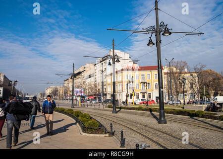 Bulgaria, Sofia, Lion bridge - Stock Photo