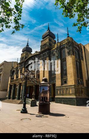 Baku/Azerbaijan - May 10, 2018. Azerbaijan Academic Opera and Ballet Theater - Stock Photo