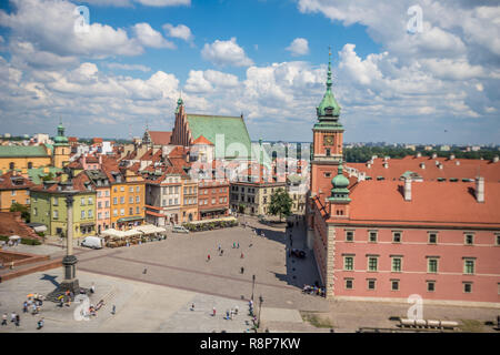 View of Warsaw Poland - Stock Photo