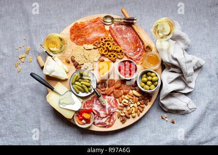 Charcuterie Board - Stock Photo