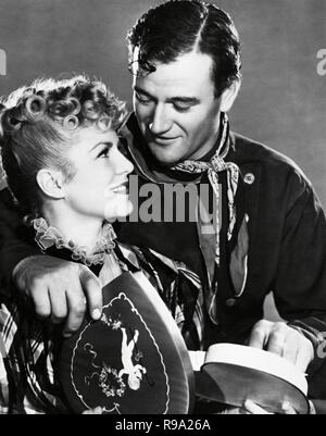 Original film title: STAGECOACH. English title: STAGECOACH. Year: 1939. Director: JOHN FORD. Stars: JOHN WAYNE; CLAIRE TREVOR. Credit: UNITED ARTISTS / Album - Stock Photo