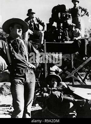 Original film title: STAGECOACH. English title: STAGECOACH. Year: 1939. Director: JOHN FORD. Stars: JOHN WAYNE. Credit: UNITED ARTISTS / Album - Stock Photo