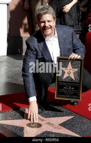 Los Angeles, CA, USA. 18th Jan, 2012. LOS ANGELES - JAN 12: John Wells at the John Wells Star Ceremony on the Hollywood Walk of Fame on January 12, 2012 in Los Angeles, CA Credit: Kay Blake/ZUMA Wire/Alamy Live News - Stock Photo