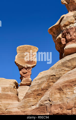Devils Garden, Grand Staircase-Escalante National Monument, Utah, USA, North America     Devils Garden, Grand Staircase-Escalante National Monument, U - Stock Photo
