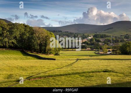 Hawes; Wensleydale; Yorkshire; UK - Stock Photo