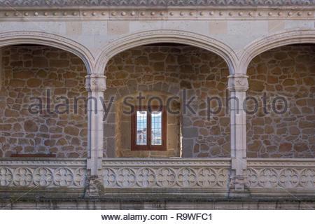 In Manzanares el Real, Spain - Stock Photo