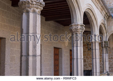 In Manzanares el Real, Spain - Stock Photo
