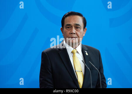 26.11.2018, Berlin - Der thailaendische Ministerpraesident General Prayut Chan-o-cha. 00R181128D024CARO.JPG [MODEL RELEASE: NO, PROPERTY RELEASE: NO ( - Stock Photo