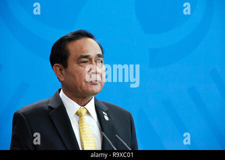 26.11.2018, Berlin - Der thailaendische Ministerpraesident General Prayut Chan-o-cha. 00R181128D029CARO.JPG [MODEL RELEASE: NO, PROPERTY RELEASE: NO ( - Stock Photo