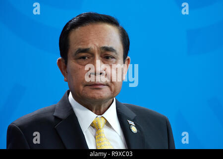 26.11.2018, Berlin - Der thailaendische Ministerpraesident General Prayut Chan-o-cha. 00R181128D036CARO.JPG [MODEL RELEASE: NO, PROPERTY RELEASE: NO ( - Stock Photo