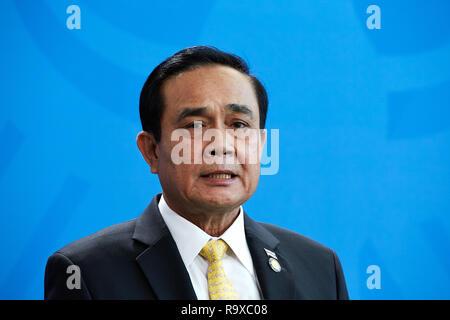 26.11.2018, Berlin - Der thailaendische Ministerpraesident General Prayut Chan-o-cha. 00R181128D043CARO.JPG [MODEL RELEASE: NO, PROPERTY RELEASE: NO ( - Stock Photo