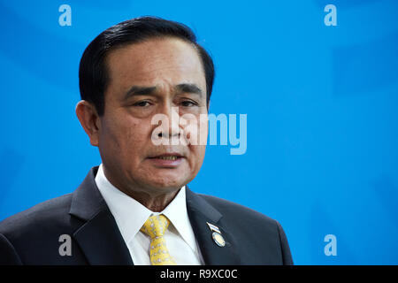 26.11.2018, Berlin - Der thailaendische Ministerpraesident General Prayut Chan-o-cha. 00R181128D052CARO.JPG [MODEL RELEASE: NO, PROPERTY RELEASE: NO ( - Stock Photo