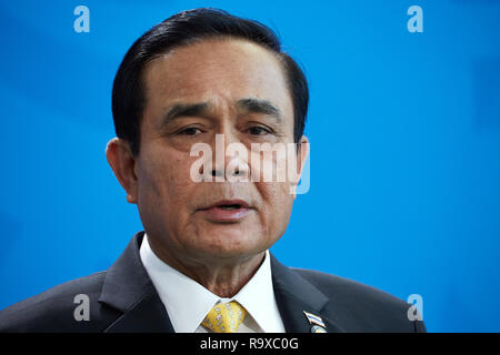 26.11.2018, Berlin - Der thailaendische Ministerpraesident General Prayut Chan-o-cha. 00R181128D056CARO.JPG [MODEL RELEASE: NO, PROPERTY RELEASE: NO ( - Stock Photo