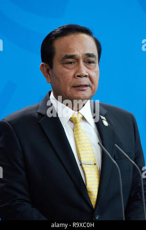 26.11.2018, Berlin - Der thailaendische Ministerpraesident General Prayut Chan-o-cha. 00R181128D057CARO.JPG [MODEL RELEASE: NO, PROPERTY RELEASE: NO ( - Stock Photo