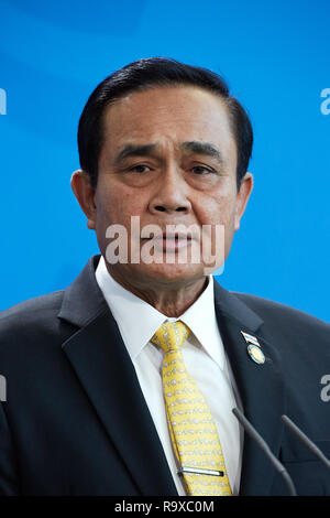26.11.2018, Berlin - Der thailaendische Ministerpraesident General Prayut Chan-o-cha. 00R181128D067CARO.JPG [MODEL RELEASE: NO, PROPERTY RELEASE: NO ( - Stock Photo