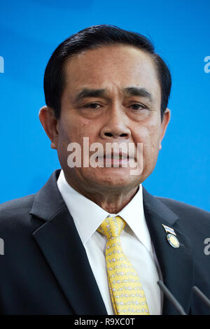 26.11.2018, Berlin - Der thailaendische Ministerpraesident General Prayut Chan-o-cha. 00R181128D070CARO.JPG [MODEL RELEASE: NO, PROPERTY RELEASE: NO ( - Stock Photo