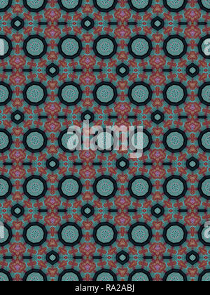 A funky, groovy and fun fractal/abstract piece. - Stock Photo
