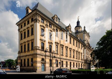 University, Wroclaw, Lower Silesia Province, Poland - Stock Photo