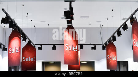 shopping sale background sign - Stock Photo
