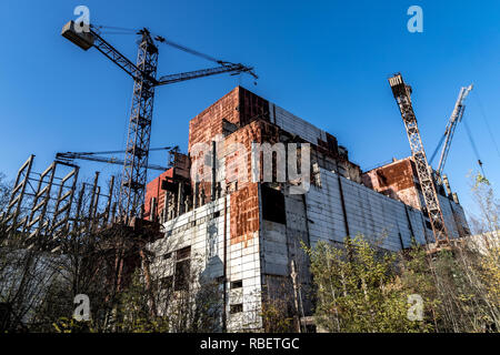 Pictures from Chernobyl, Ukraine - Stock Photo