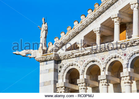The Cathedral of Pisa, west facade, Pisa, Tuscany, Italy, Europe - Stock Photo