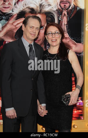 FILE PHOTOS: 12 January 2019. HOLLYWOOD, CA - MARCH 11: Actress Olivia Wilde arrives at the 'The Incredible Burt Wonderstone' - Los Angeles Premiere at TCL Chinese Theatre on March 11, 2013 in Hollywood, California     People:  Steve Buscemi, Jo Andres Credit: Storms Media Group/Alamy Live News - Stock Photo