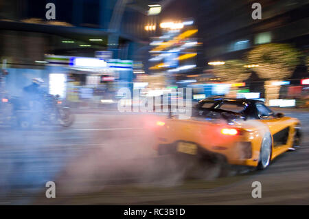 Original film title: THE FAST AND THE FURIOUS: TOKYO DRIFT. English title: THE FAST AND THE FURIOUS: TOKYO DRIFT. Year: 2006. Director: JUSTIN LIN. Credit: UNIVERSAL PICTURES/ORIGINAL FILM / ALVENDIA, ANTONIO / Album - Stock Photo