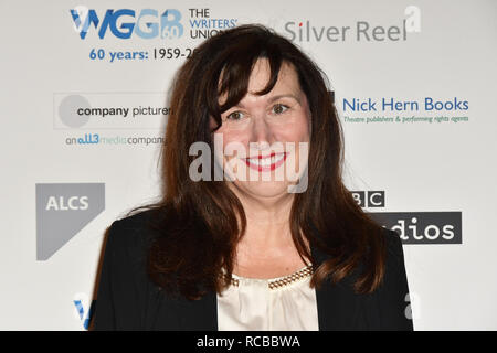 London, UK. 14th Jan, 2019. Nominees attends 2019 Writers' Guild Awards at Royal College of Physicians on 14 January 2019, London, UK Credit: Picture Capital/Alamy Live News - Stock Photo