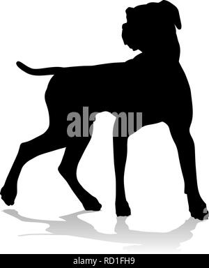 Dog Silhouette Pet Animal - Stock Photo
