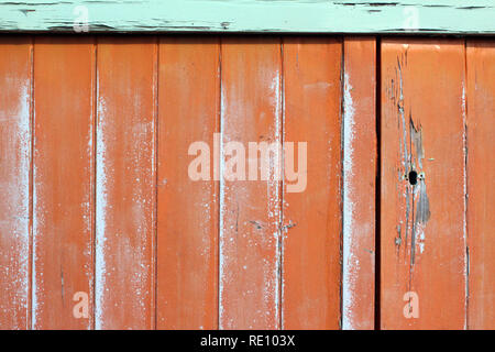 Colorful wooden hut Brighton, England, close-up - Stock Photo