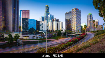 Los Angeles, officially the City of Los Angeles, often known by its initials L.A., is the most populous city in the U.S. state of California and the s - Stock Photo