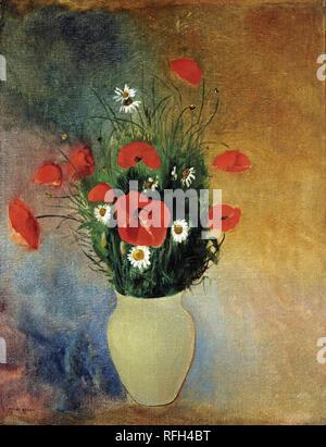 ODILON REDON, VASE OF FLOWERS 2.jpg - RFH4CE - Stock Photo