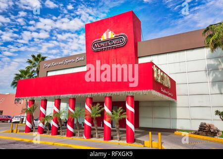 Mazatlan, Mexico-10 December, 2018: Mazatlan Casino located in Golden Zone (Zona Dorada) - Stock Photo