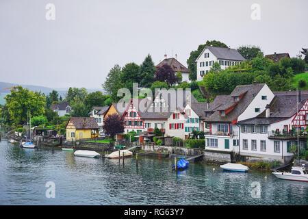 Stein am Rhein, Germany - Stock Photo