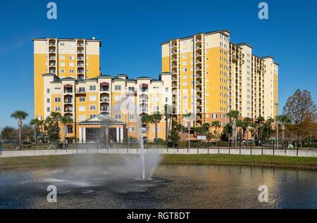 Lake Buena Vista Resort Hotel and Spa, Orlando, Florida, USA. - Stock Photo