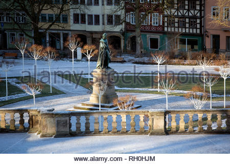 Coburg, Germany. 31st Jan, 2019. Cold, crisp weather in Coburg, Germany after light snowfall. Temperatures are expected to drop slightly over the next few days. Credit: Reallifephotos/Alamy Live News - Stock Photo