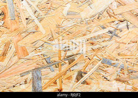 Plywood texture. Osb wood board for background decoration. - Stock Photo
