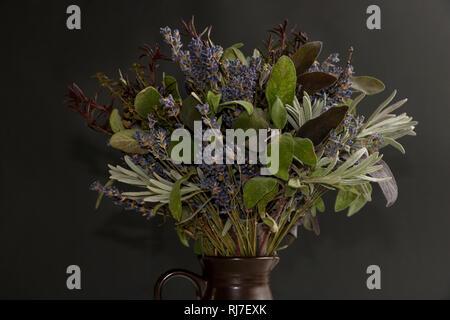 Stilleben mit Lavendel - Stock Photo