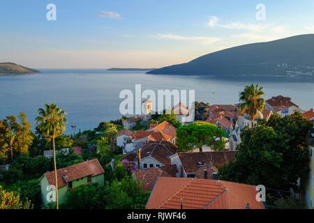Old Town, Herceg Novi, Bay of Kotor, Adriatic Coast, Montenegro - Stock Photo