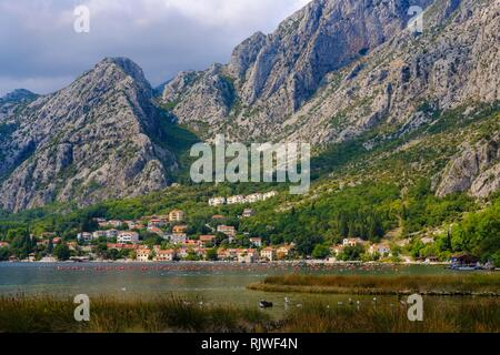 Donj Orahovac, Bay of Kotor, Province of Kotor, Montenegro - Stock Photo