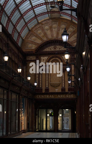 The Central Arcade in Newcastle upon Tyne, England UK - Stock Photo