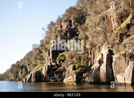 Cataract Gorge, Launceston, Tasmania, Australia - Stock Photo