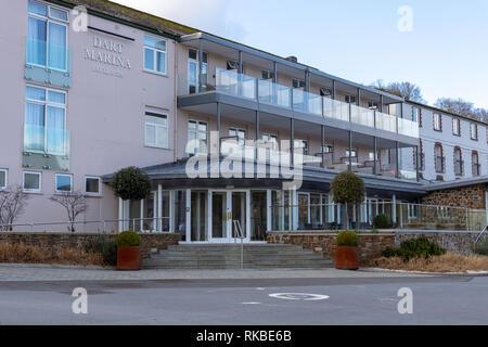 Dart Marina Hotel and Spa, Dartmouth, Devon, England - Stock Photo