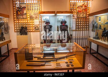 Oriental Museum, Agustinos Filipinos convent, Valladolid, Castilla y Leon, Spain - Stock Photo