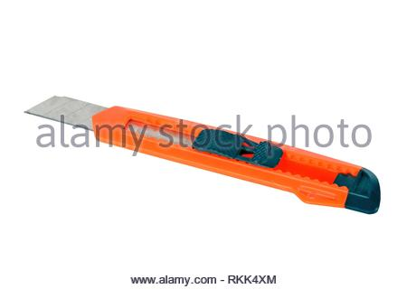 Knife tool on a white background. - Stock Photo