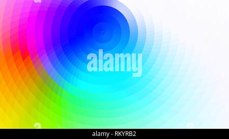 vector abstract bright colorful background - Stock Photo