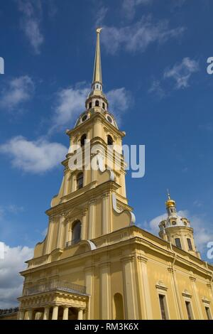 SS Peter and Paul Cathedral, St Petersburg, UNESCO World Heritage Site, Russia - Stock Photo