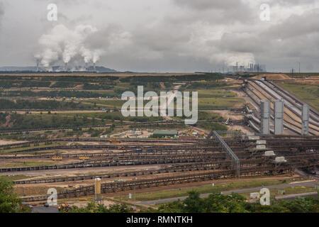 RWE mining at Garzweiler - Stock Photo