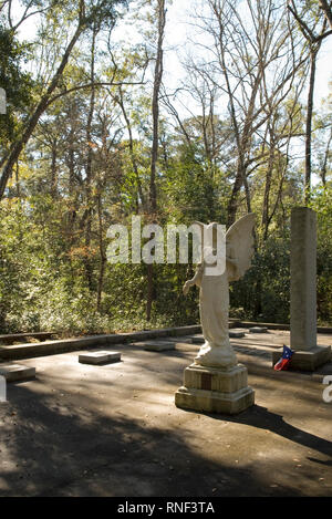 Vereen Memorial Historical Gardens Little River, South Carolina USA. - Stock Photo